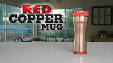 Red Copper Mug™Video